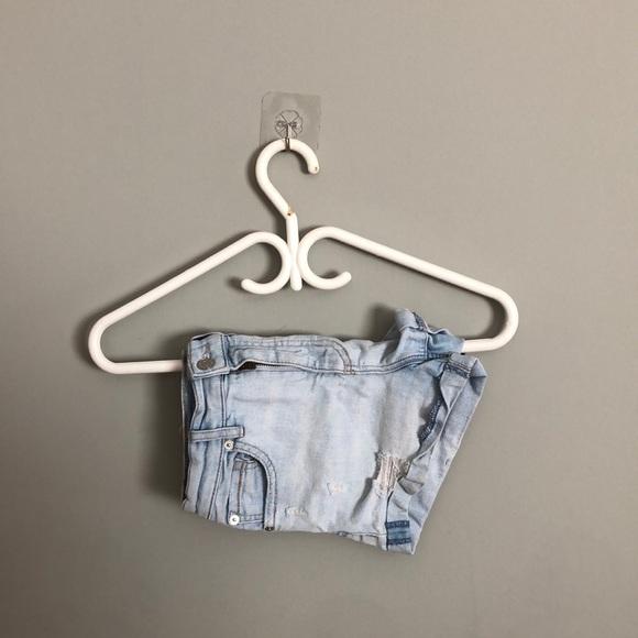 Garage size 00 shorts